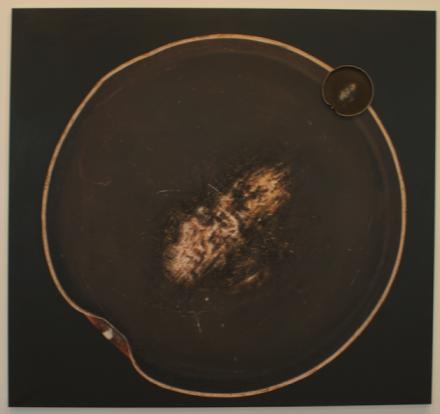 Subodh Gupta, Seven Billion Light Years II (2014), via Ross Maddux Art Observed