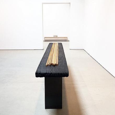 Subodh Gupta, Seven Billion Light Years (Installation View), via Art Observed