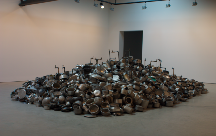 Subodh Gupta, This is not a fountain (2011), Art Observed