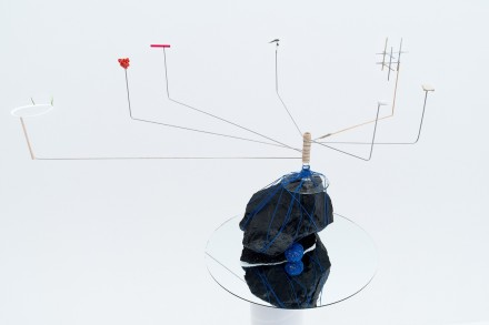 Sarah Sze, Model Series (2015), via Victoria Miro