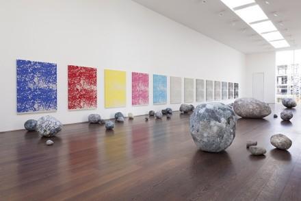Sarah Sze, Stone Series (2013-2015), via Victoria Miro