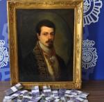 The Fake Goya and Fake Money, via Artnet