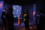 "Visitors to the ""Art of the Video Game"" exhibition at the Smithsonian American Art Museum, via Art Newspaper"