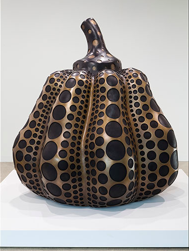 Yayoi Kusama, Pumpkin (M) (2014), via Victoria Miro