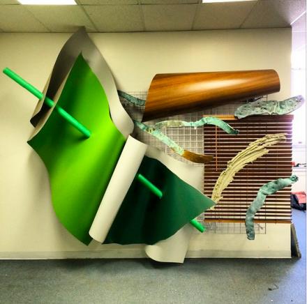 Adam Parker Smith at Spring Break, via Art Observed