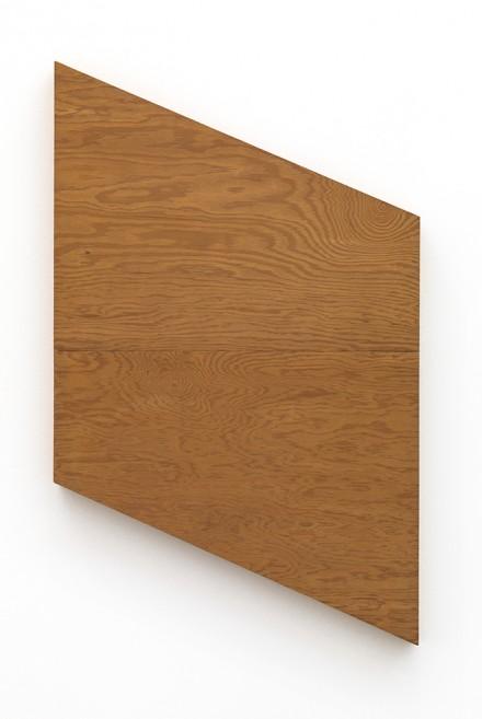 Blinky Palermo - David Zwirmer - Holz Parallelogramm, Wood Parallelogram (1974)