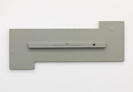 Blinky Palermo - David Zwirmer - Objekt mit Wasserwaage, Object with Spirit Level (1969-73)