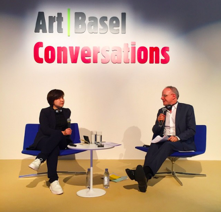 Cao Fei in Conversation with Hans Ulrich Obrist, via Art Basel