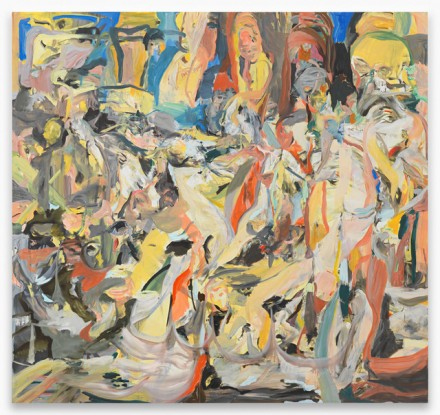 Cecily Brown, The Sleep Around and the Lost and Found (2014), via Contemporary Fine Arts