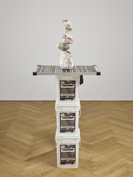Daniel Keller, Stack 1 (2014), via Max Hetzler