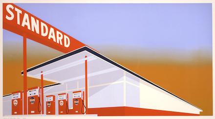 Ed Ruscha, Standard Station (1969)