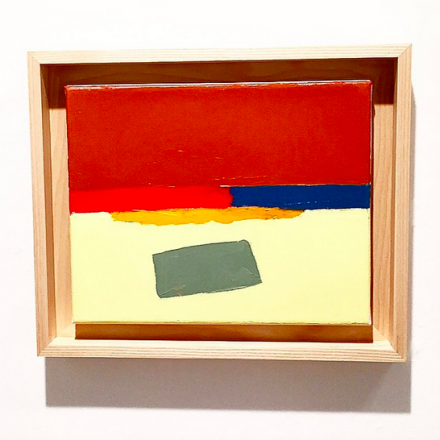 Etel Adnan, via Art Observed