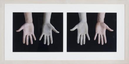 Giuseppe Penone, Gloves (1972), via Marian Goodman