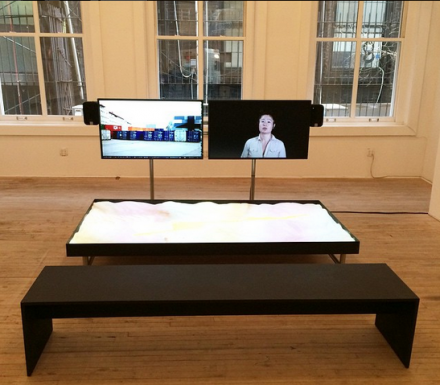 Hito Steyerl at Artist's Space, via Art Observed