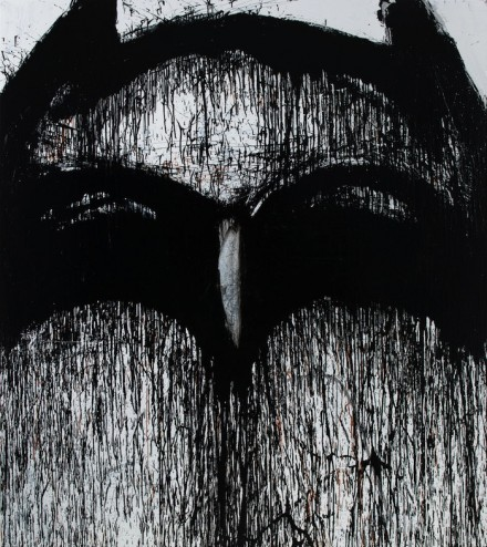 Holy Blackout Batman - Joyce Pensato - Castaway - Petzel VI