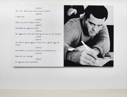 John Baldessari_Pictures & Scripts_Marian Goodman Gallery_Uh - Uh - Would you like., 2015