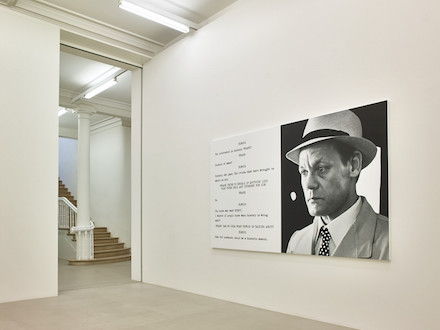 John Baldessari_Pictures & Scripts_Marian Goodman Gallery_installation view2