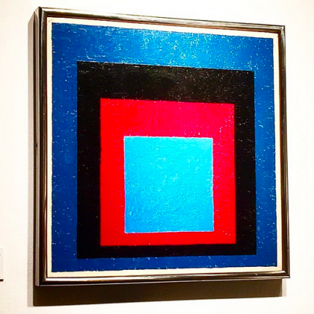 Josef Albers, via Art Observed