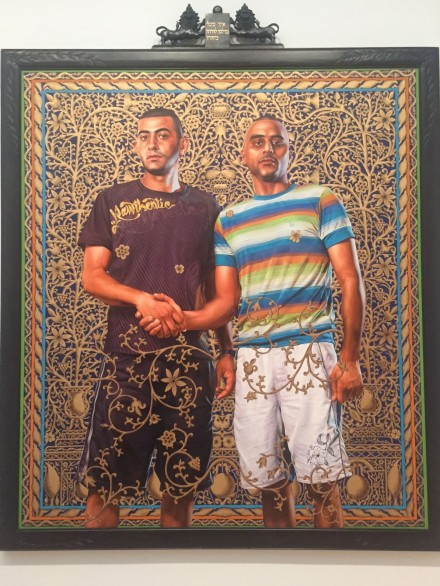 Kehinde Wiley, Abed Al Ashe and Chaled El Awari (2011)