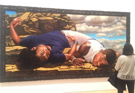 Kehinde Wiley, Santos Dumont-The Father of Aviation (2009)