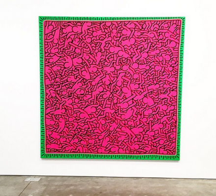 Keith Haring Untitled (June 1, 1984) (1984), via Art Observed
