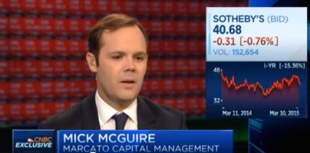Mark McGuire on CNBC, via CNBC