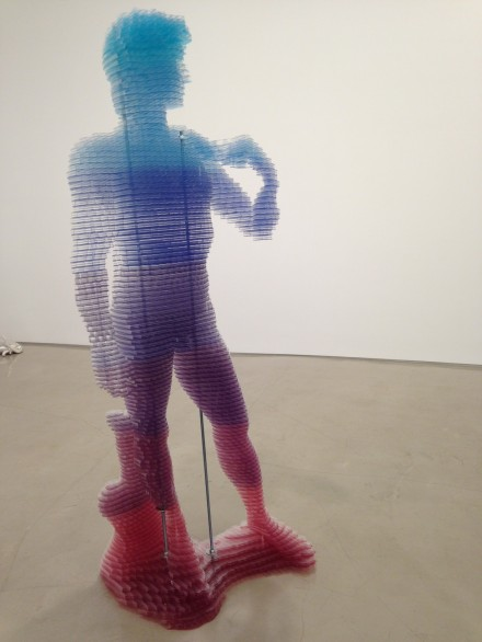 Matthew Darbyshire, CAPTCHA No.24 - David, (2015)