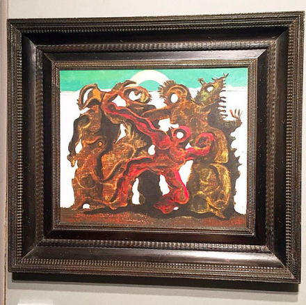 Max Ernst at Acquavella, via Art Observed