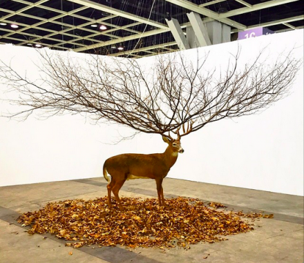 Myeongbeom Kim at Gallery Ihn, via Art Basel