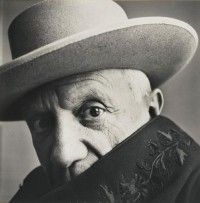 Pablo Picasso by Irving Penn, via Art Newspaper