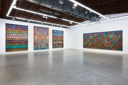 Philip Taaffe - Luhring Augustine Bushwick installation view (2015)