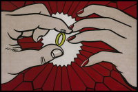 Roy Lichtenstein, The Ring (Engagement), via Sotheby's
