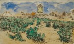 Van Gogh's Moulin d'Alphonse, via The Guardian