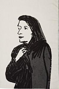 Alex Katz design for Art Production Fund, via Art info