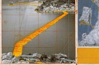Christo's sketch for the project, via Art Newspaper