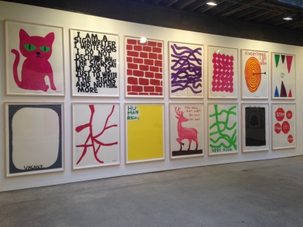 David Shrigley at Anton Kern Gallery (Installation View)