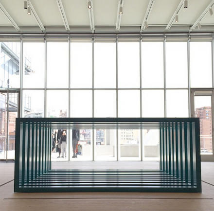 Donald Judd, via Art Observed