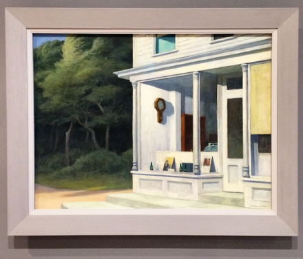 Edward Hopper, via Art Observed