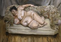 Lucian Freud, Benefits Supervisor Resting, via Guardian