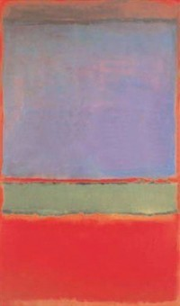 Mark Rothko's No. 6 (Violet, Green and Red), via Bloomberg
