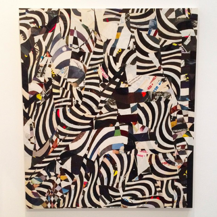 Nathaniel Axel, Snakes and Ladders (2015), via Art Observed