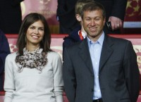 Roman Abramovich and Dasha Zhukova, via Artnet