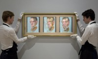 Three Studies for a Self-Portrait (1980) by Francis Bacon, via The Guardian