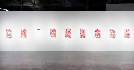 William Pope L, Trinket (Installation View), via MOCA 1
