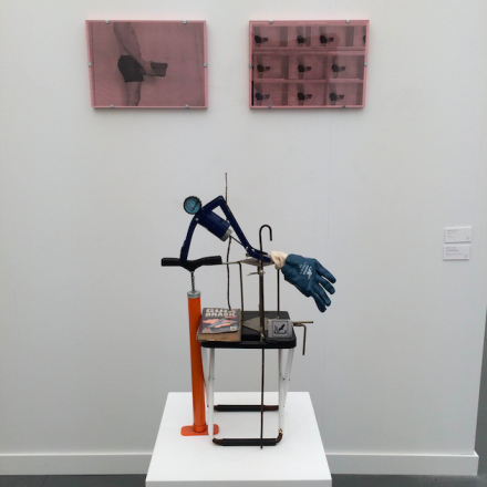 Adriano Costa at Mendes Wood DM, via Art Observed
