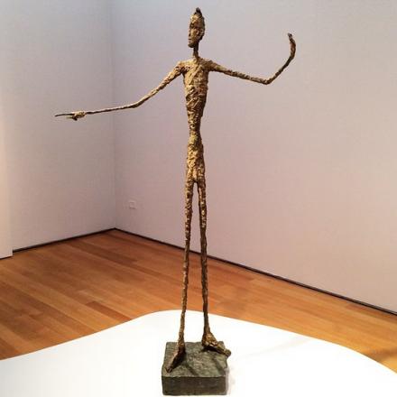Alberto Giacometti, L'Homme Au Doigt (1947)