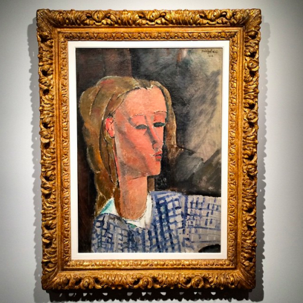 Amedeo Modigliani, Beatrice Hastings (1916), Art Observed