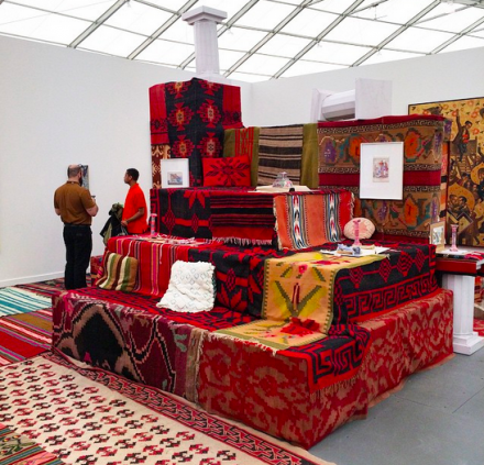 Andreas Angelidakis at The Breeder, via Art Observed