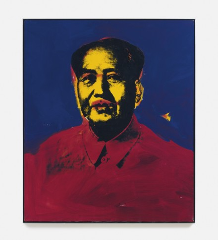 Andy Warhol, Mao (1973), via Sotheby's