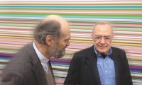 Arvo Pärt and Gerhard Richter, via Guardian